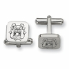 Fresno State Bulldogs Stainless Steel Cufflinks