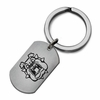 Fresno State Bulldogs Stainless Steel Key Ring