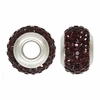 Garnet Swarovski Elements Crystal Bead