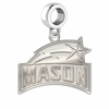 George Mason Patriots Dangle Charm