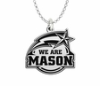 George Mason Patriots Spirit Mark Charm