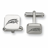 George Mason Patriots Stainless Steel Cufflinks