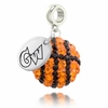 George Washington Colonials Crystal Drop Charm