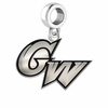 George Washington Colonials Logo Cut Out Dangle