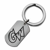 George Washington Colonials Stainless Steel Key Ring