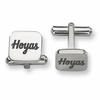 Georgetown Hoyas Stainless Steel Cufflinks