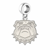 Georgia Bulldogs Natural Finish Dangle Charm
