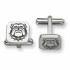 Georgia Bulldogs Stainless Steel Cufflinks