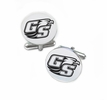 Georgia Southern Eagles Cufflinks Stainless Steel Round Top