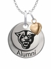 Georgia State Panthers Alumni Necklace with Heart Accent