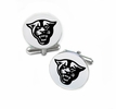 Georgia State Panthers Cufflinks Stainless Steel Round Top