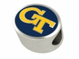 Georgia Tech Yellow Jackets Enamel Bead