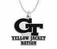 Georgia Tech Yellow Jackets Spirit Mark Charm