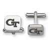 Georgia Tech Yellow Jackets Stainless Steel Cufflinks