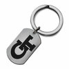 Georgia Tech Yellow Jackets Stainless Steel Key Ring
