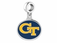Gerogia Tech Yellow Jackets Silver Charm