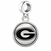 Grambling State Tigers Border Round Dangle Charm