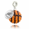 Gonzaga Bulldogs Crystal Drop Charm