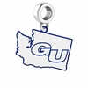 Gonzaga Bulldogs Logo Dangle Charm