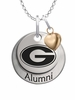 Grambling State Tigers Alumni Necklace with Heart Accent