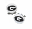 Grambling State Tigers Cufflinks Stainless Steel Round Top