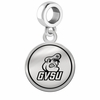 Grand Valley State Lakers Border Round Dangle Charm
