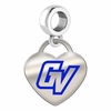 Grand Valley State Lakers Color Heart Dangle