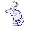 Grand Valley State Lakers Logo Dangle Charm