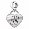 Hartford Engraved Heart Dangle Charm