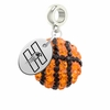 Hartford Hawks Crystal Drop Charm