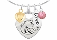 Heart Necklace Clusters