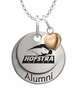 Hofstra Pride Alumni Necklace with Heart Accent