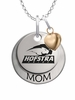 Hofstra Pride MOM Necklace with Heart Charm