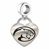 Houston Engraved Heart Dangle Charm