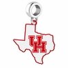 Houston Cougars Logo Dangle Charm
