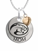 Houston Cougars MOM Necklace with Heart Charm