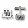 Houston Cougars Stainless Steel Cufflinks