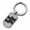 Houston Cougars Stainless Steel Key Ring
