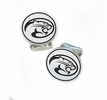 Houston Cougars Sterling Silver Cufflinks