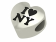 I Love New York Bead
