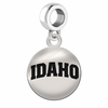 Idaho Round Dangle Charm