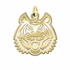 Idaho State Bengals 14K Yellow Gold Natural Finish Cut Out Logo Charm