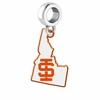 Idaho State Bengals Logo Dangle Charm