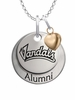 Idaho Vandals Alumni Necklace with Heart Accent