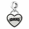 Idaho Vandals Border Heart Charm