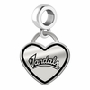 Idaho Vandals Border Heart Dangle Charm