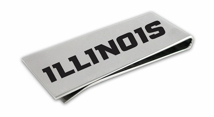 Illinois Fighting Illini Money Clip
