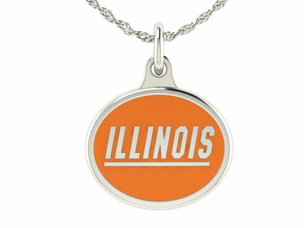 Illinois Fighting Illini Silver Charm
