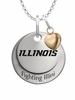 Illinois Fighting Illini with Heart Accent