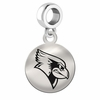 Illinois State Round Dangle Charm